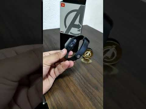 Mi band 4 avengers edition first copy