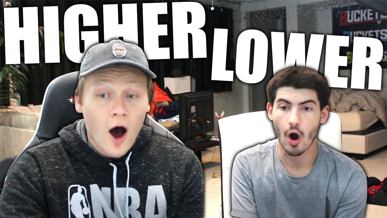 HIGHER OR LOWER VS. MOPI! - YouTube
