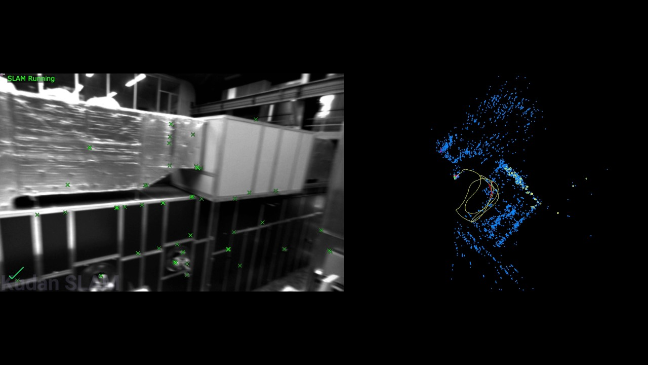 KudanSLAM: EuRoC MAV MH03 dataset