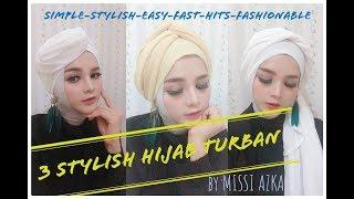 Gambar cover 3 Model Hijab Turban Modis 2018