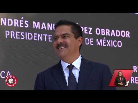 Así se vivió la visita de Andrés Manuel López Obrador a TV Azteca.   A Quien Corresponda