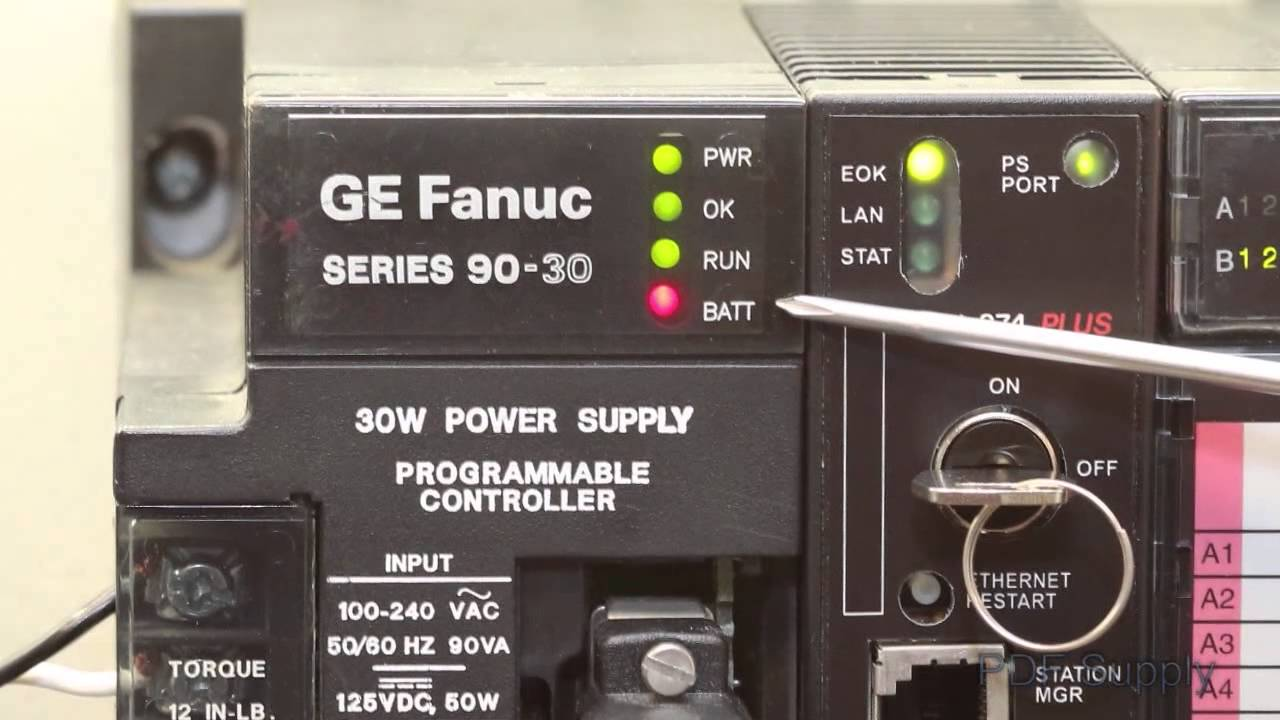 Troubleshooting the GE Series 90 30 PLC System