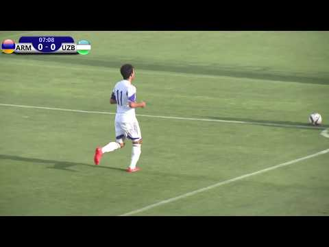 Armenia U19 vs Uzbekistan U19 Friendly 07.08.2017