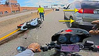 Most Unusual Riders Troubles   Epic Biker Moments   Ep.227