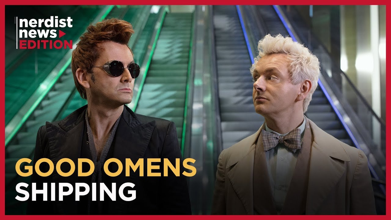 Watch The GOOD OMENS Cast React To Fan 'Shipping - Nerdist