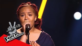 Amy - 'His Eyes Are On The Sparrow' | Blind Auditions | The Voice Van Vlaanderen | VTM