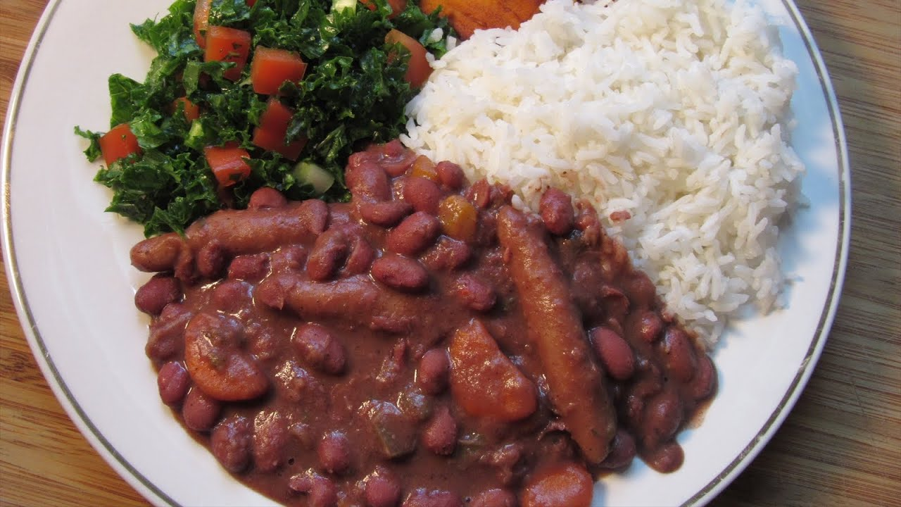 jamaican meatless stew peas  youtube