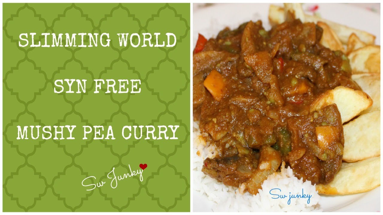Slimming World Syn Free Mushy Pea Curry Youtube
