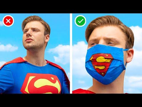 Супергерои дома /