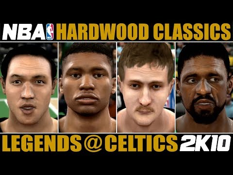 Hardwood Classics ✪ Brooklyn Legends @ Boston Celtics - Full Game Highlights | Week #1 ✪ NBA 2K10