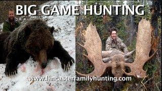 Big game hunting in North America with Bart Lancaster