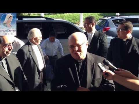 Despedida Mons Ortega y Alamino V Congreso Eucarístico