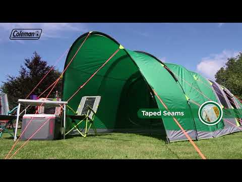 coleman®-fastpitch-air-valdes-6l---inflatable-6-man-family-tent-with-blackout-bedrooms