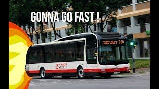 SMRT BUS GOES 100 MPH ! | Roblox - Kandang Kerbau