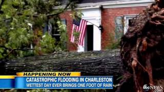 Charleston, South Carolina Rocked by Record Setting Rain