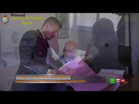 Guardia di Finanza - Roma, Truffa ai danni dell'INPS , sequestrati beni per 135.000 Euro- ww.HTO.tv