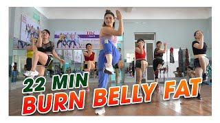 Download lagu Morning Routine to Burn Belly Fat | 22 MIN Beginner Friendly Standing Workout | Zumba Class