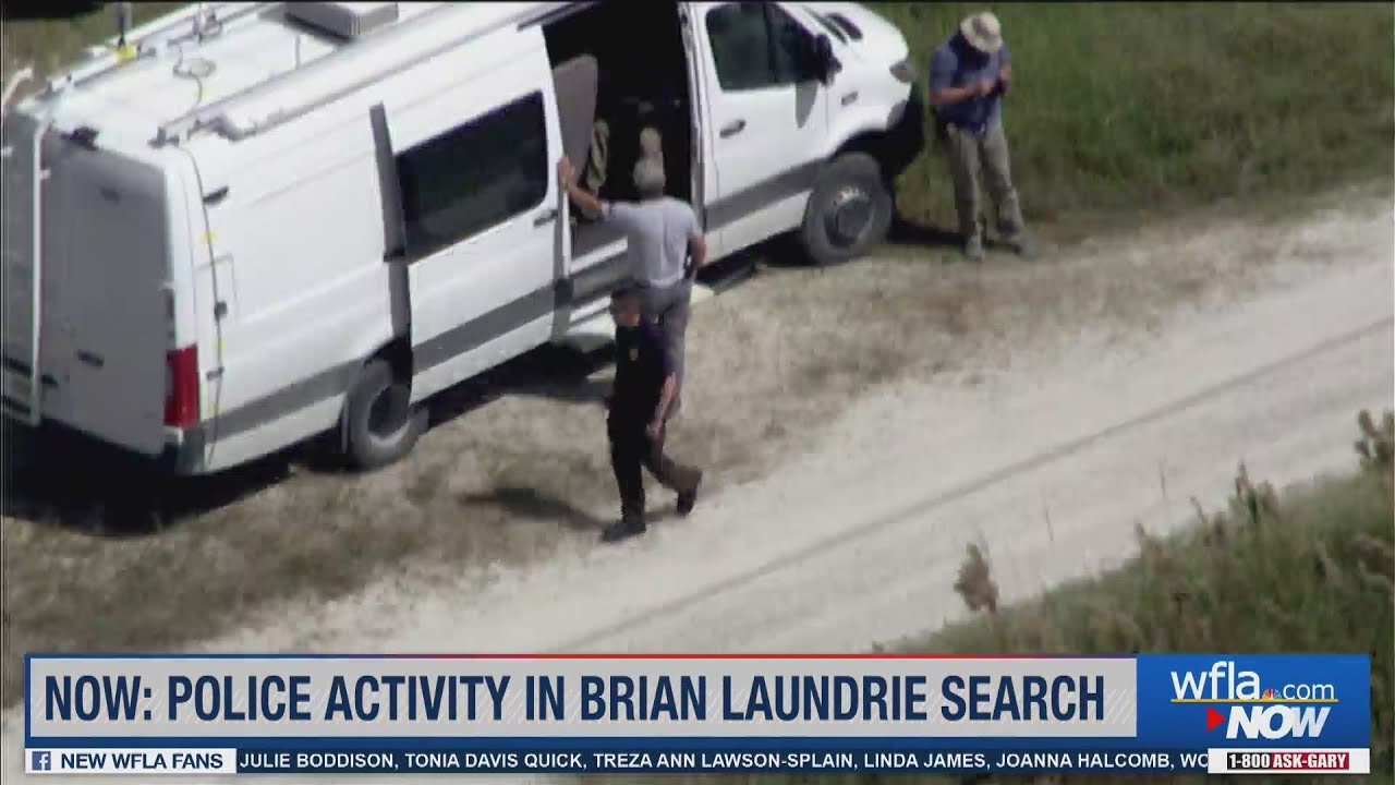 Receding Water in Brian Laundrie Search Area Could Help FBI ...