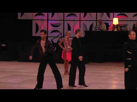 2017 USDC US National Champions pro/am open latin Missy & Ge