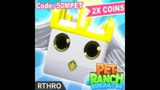 🐾[2 NEW CODES] 🐾[50M UPDATE (1/2)] 🐾 Pet Ranch Simulator | ROBLOX
