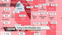 Trying to find affordable rents in Denver