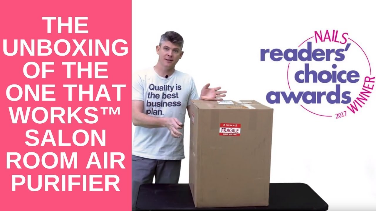 UNBOXING of The One That Works™ Salon Room Air Purifier - YouTube