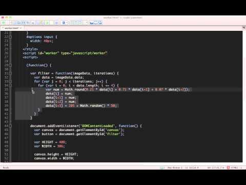 JavaScript Web Workers