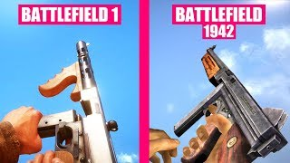 BATTLEFIELD 1 Gun Sounds vs Battlefield 1942
