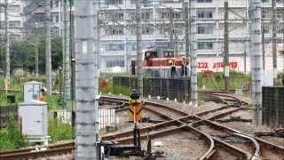 西武拝島線 拝島駅 横田基地専用線(米タン) 平面交差