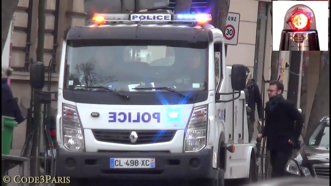 Dépanneuse de police (compilation) // Paris Police Tow Trucks