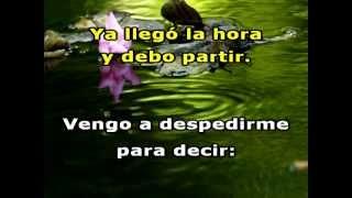 DESPEDIDA . Karaoke . Roberto Carlos.