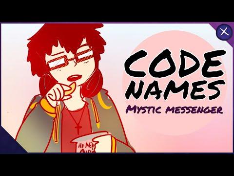 CODE NAMES // Mystic Messenger