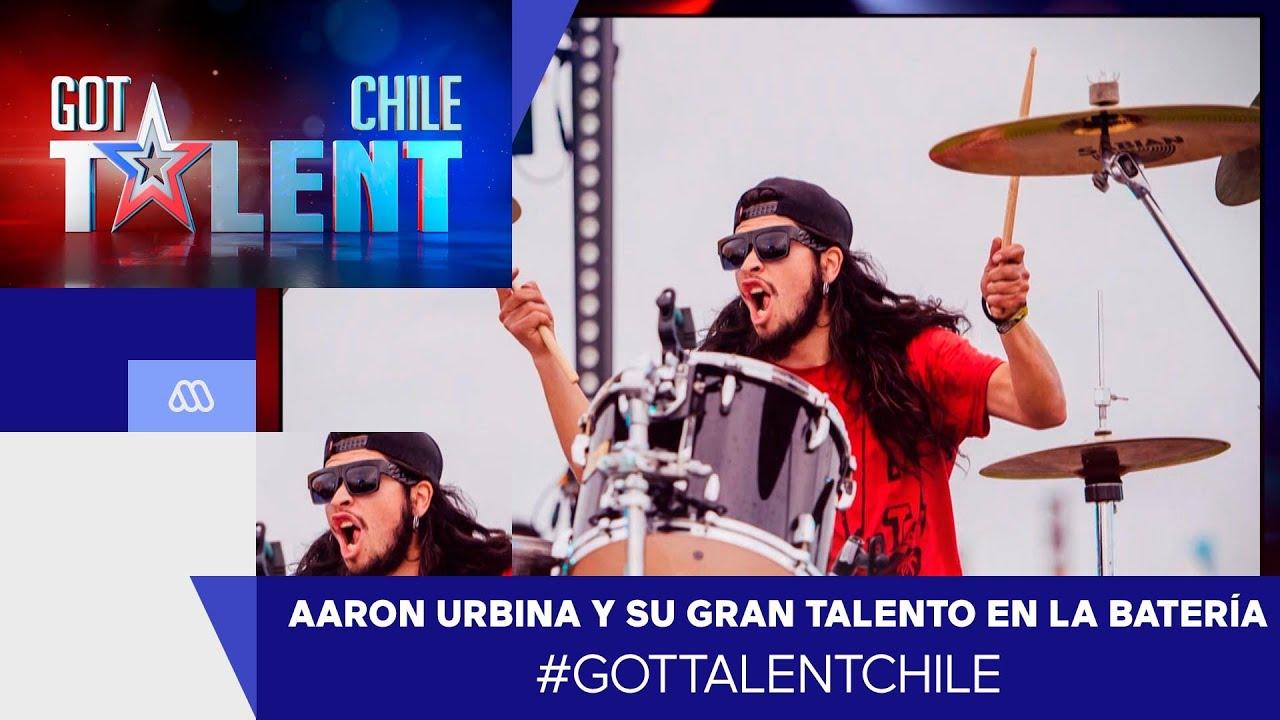 Aaron Urbina y su gran talento en la batería / #GotTalentChile 2021