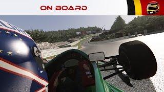 On Board #91 : Jordan 191 (Spa-Francorchamps 92') [4K]