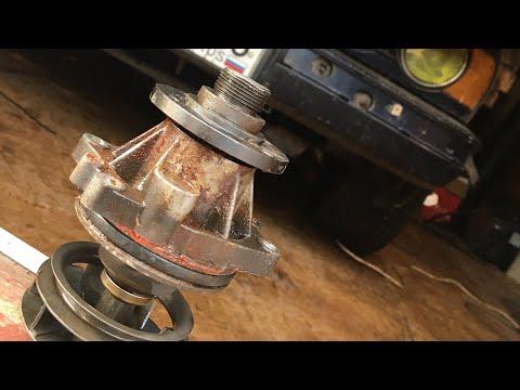 BMW e34! Замена помпы, термостата, резинок на форсунках и как вызнать воздушную пробку