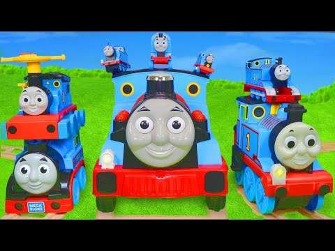 Thomas & Friends Train Toys: Wooden Railway Engine, Cars, Trucks & Toy Vehicles Surprise For Kids
