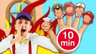 Jobs Song + More Nursery Rhymes and Kids Songs. 10 minutes