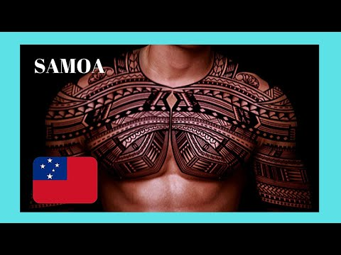 SAMOA, after tattooing - the traditional ceremony and ritual