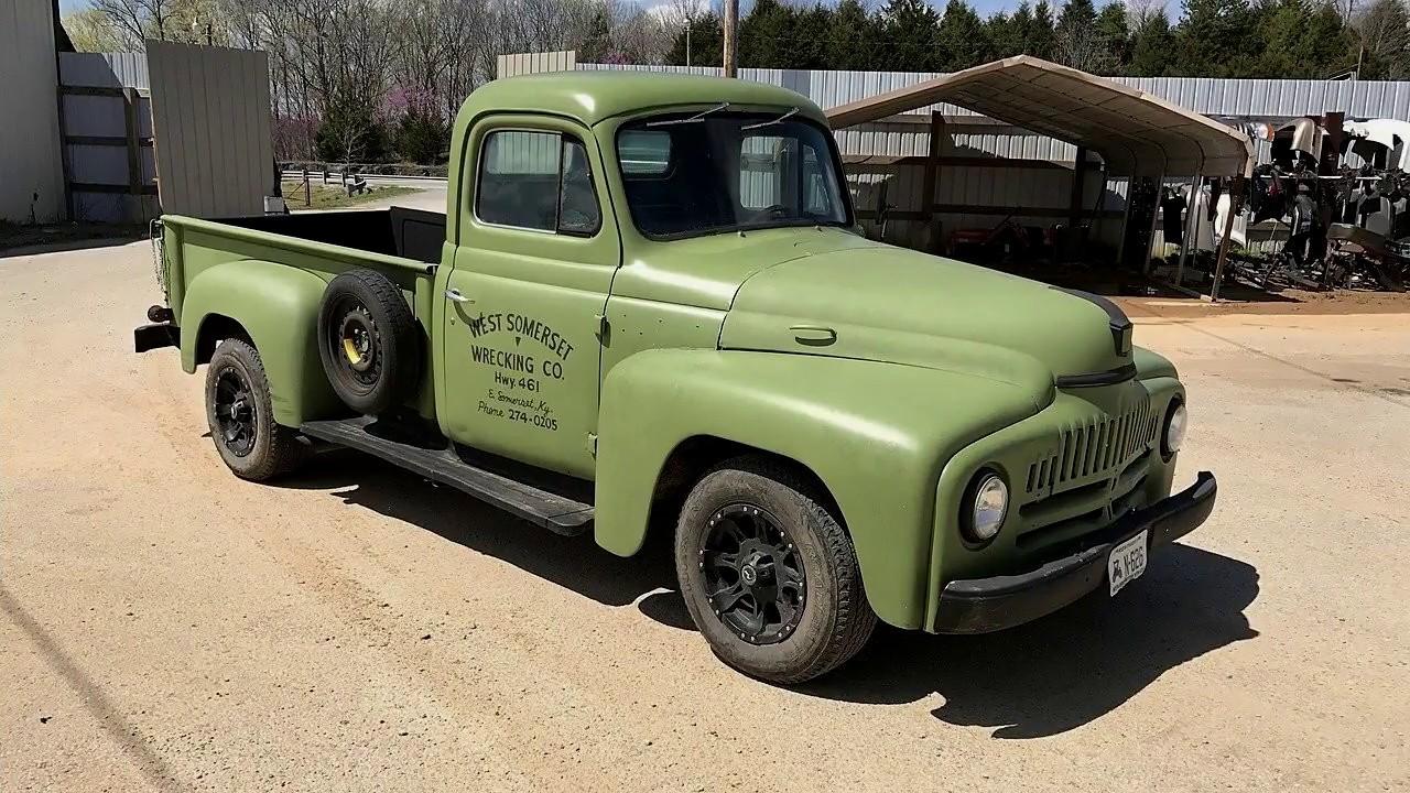 1952 International Harvester Pickup Ottomobile