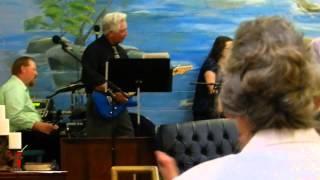 sis leigh ann charity beja singing at scottsboro alabama faith tabernacle campmeeting 2014