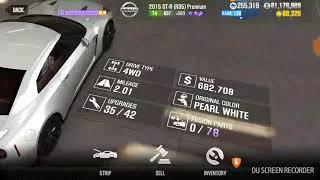 CSR2: Nissan 2015 GT-R (R35) Premium Best Tune (Stage 5 & 0 Fusion Parts)