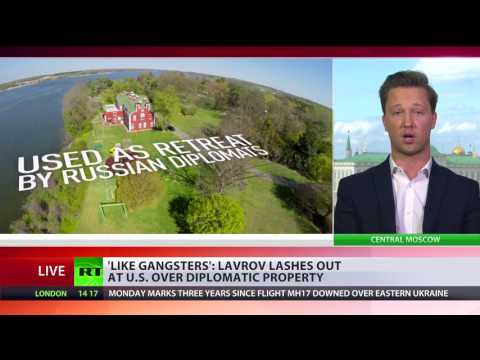 'They sound like gangsters' - Lavrov at US over seized Russian diplomatic property