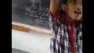 KENDRIYA VIDYALAYA BOWENPALLY ,poem recitation by Ipshita ,class VA