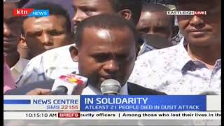Eastleigh business owners closes their shops in solidarity to River Side attack