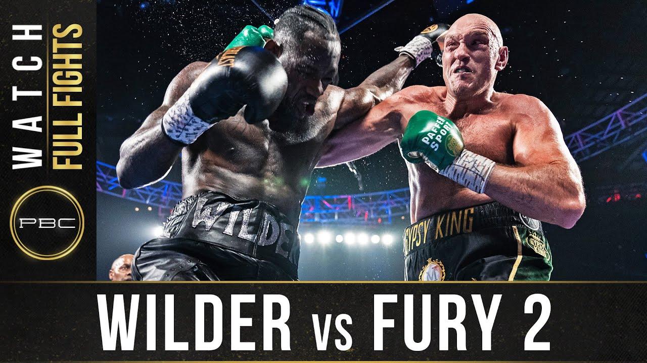 Download Wilder vs Fury 2 FULL FIGHT: February 22, 2020