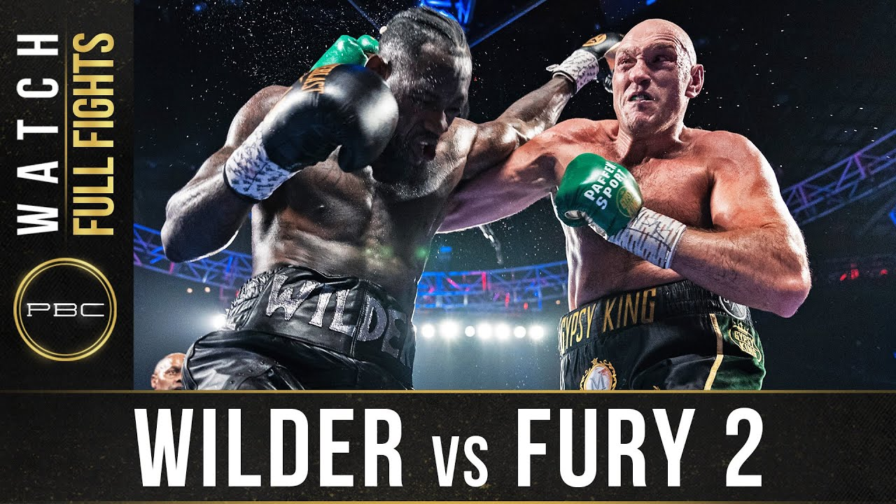 Fury Wilder 2 Weight - Wilder Vs Fury 2 Full Fight February 22 2020 Youtube