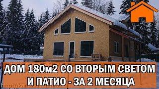 видео Проект одноэтажного дома из двойного бруса Иркутск