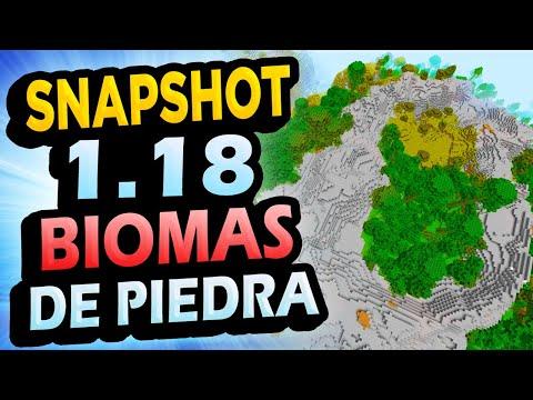 ✅ Minecraft 1.18 SNAPSHOT 3 👉 BIOMA DE PIEDRA Stony Peaks