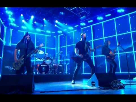 "Metallica Perform ""Enter Sandman"" at Craig Ferguson (2014-11-20)"