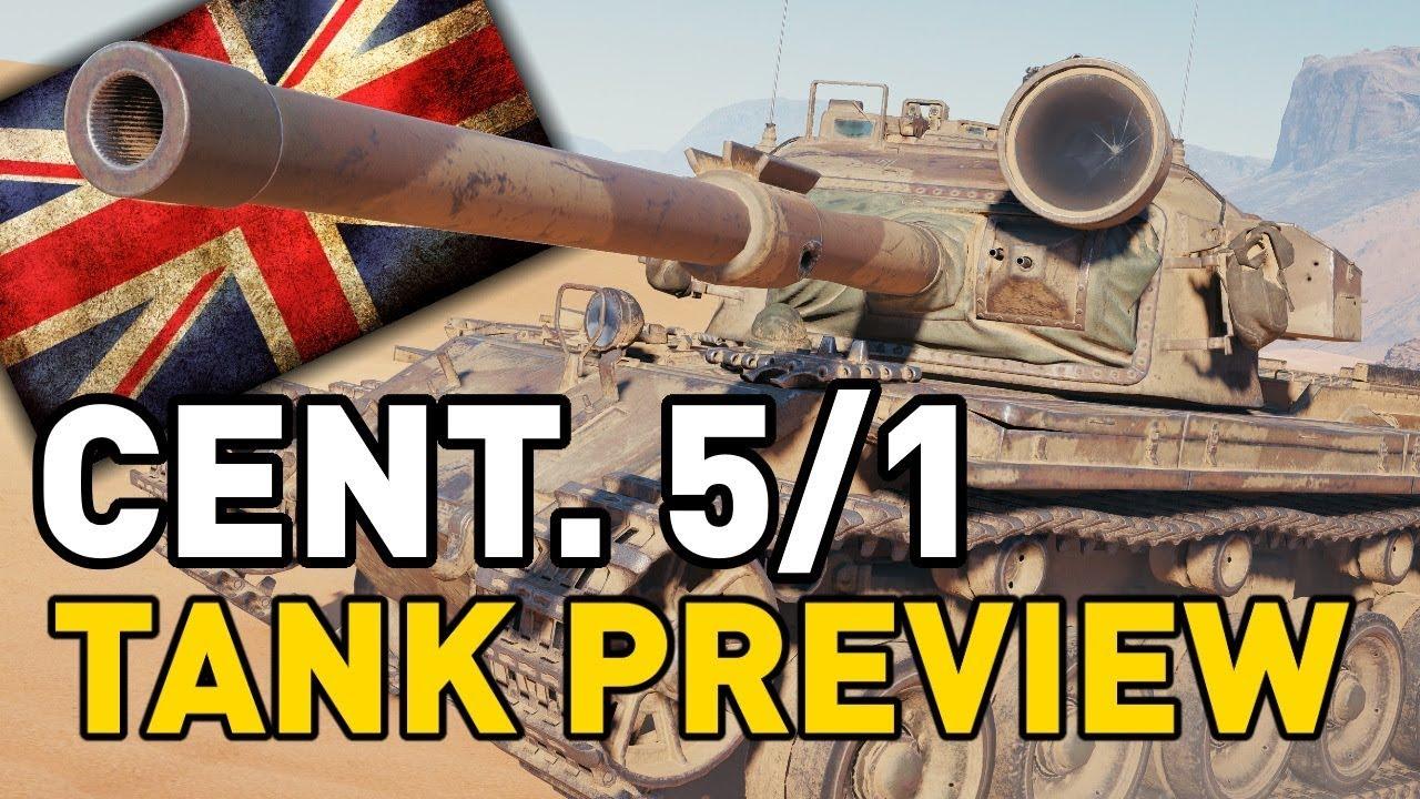 World of Tanks    Centurion 5/1 RAAC - Tank Preview